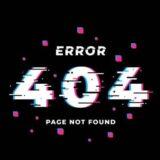 404 Error! 📵
