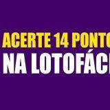Segredo14pontos LOTOFACIL