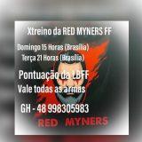 X-TREINO RED MYNERS